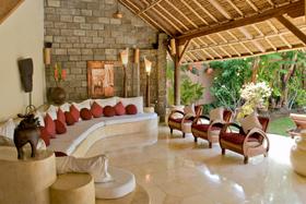 Living Area - Villa Stone House