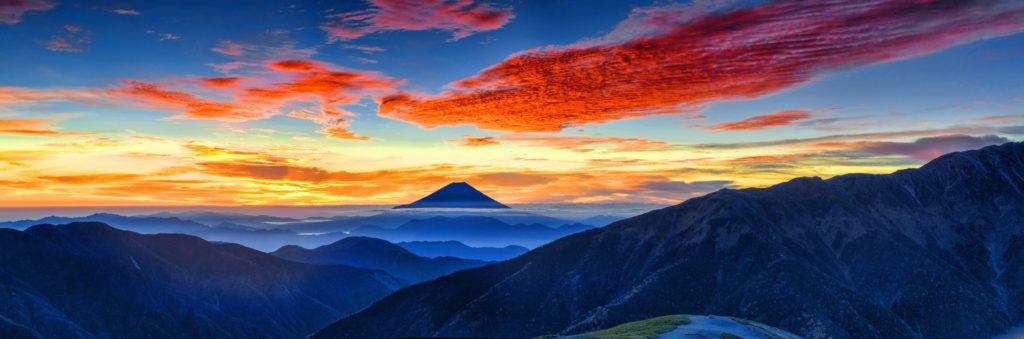 sunrise view of Mt. Agung